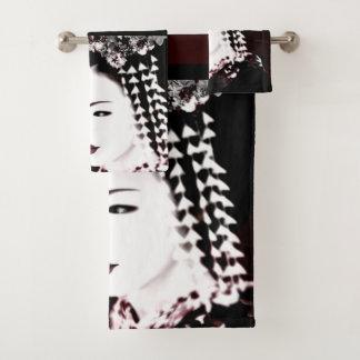 Geisha Badhandtuch Set