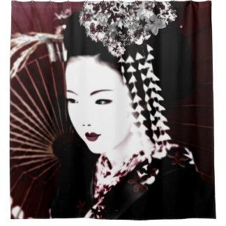 Geisha Duschvorhang