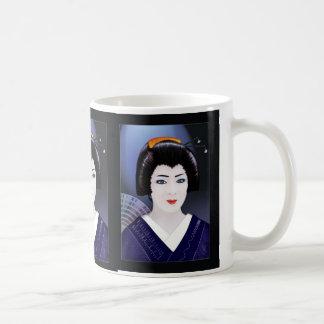 Geisha-Farbe Kaffeetasse