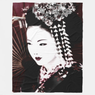 Geisha Fleecedecke