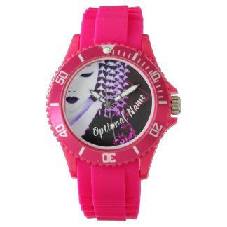 Geisha personalisiert armbanduhr