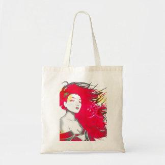 Geisha-rosa Taschen-Tasche