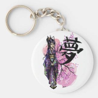 Geisha Schlüsselanhänger