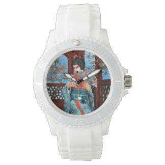 Geisha Uhr