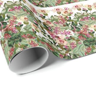 Geißblatt-BlumenBlumen-Verpackungs-Papier Geschenkpapier
