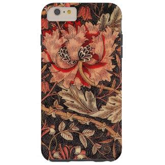 Geißblatt-Vintages Muster Williams Morris Tough iPhone 6 Plus Hülle