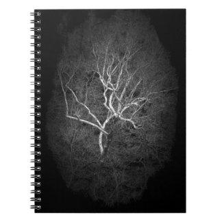Geist-Baum Spiral Notizblock