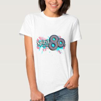 """""""Geist der Achtzigerjahre"""" Logo t die MultiBlues T Shirts"""