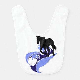 Geist der Bewegung - Freiheit - Pferd Babylätzchen