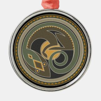 Geist der Eidechse Silbernes Ornament