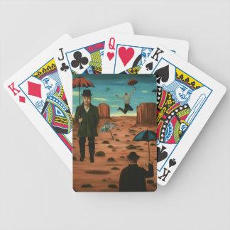 Geist der Fliegenregenschirme Bicycle Spielkarten