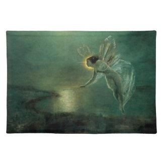 Geist der Nacht durch Grimshaw, viktorianische Fee Tischset