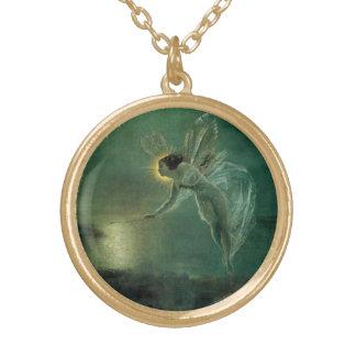 Geist der Nacht durch Grimshaw, viktorianische Fee Vergoldete Kette