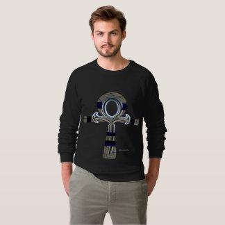 Geist der Raglan-des Sweatshirts Ankh Männer