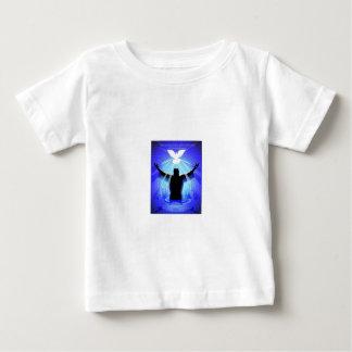 Geist, der wie eine Taube absteigt Baby T-shirt