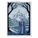 Geist der Wintergrußkarte grundlegend Grußkarte