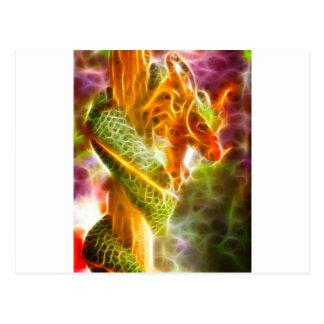 Geist des Drachen Postkarte