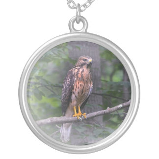 Geist des Falken Halskette Mit Rundem Anhänger