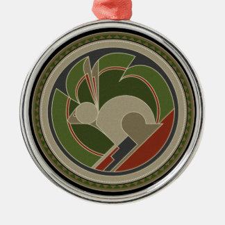 Geist des Kaninchens Silbernes Ornament