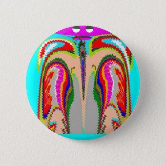 Geist des Mannes - tragender Körper Runder Button 5,1 Cm