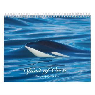 Geist des Schwertwal-Killerwal-Kalenders Kalender