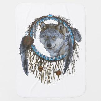 Geist des Wolfs Babydecke