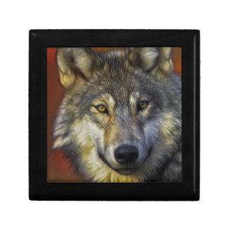 Geist des Wolfs - Therian Wolf-Fotogeschenke Geschenkbox