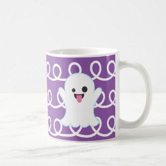 Geist Emoji lila Strudel-Tasse Kaffeetasse