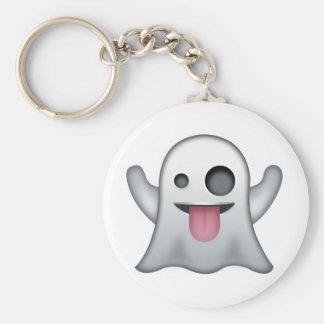 Geist Emoji Schlüsselanhänger