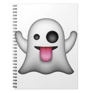 Geist - Emoji Spiral Notizblock