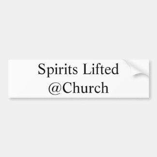 Geist hob @Church Aufkleber an Autoaufkleber