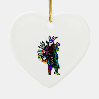 Geist-Tanz Keramik Ornament