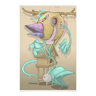 Geist-Tier Briefpapier