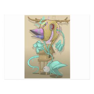 Geist-Tier Postkarte