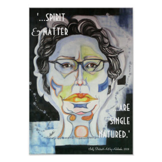 'Geist u. Angelegenheit… sind Single Natured Poster