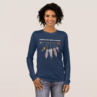 Geist vom freien langarm T-Shirt