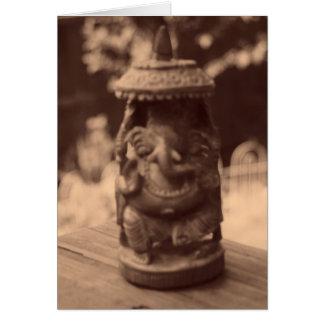 """""""Geist von Ganesha """" Karte"""