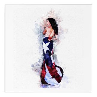 Geist von Puerto Rico Acryldruck