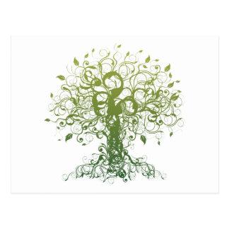 Geist-Yoga-Geschenk Postkarte