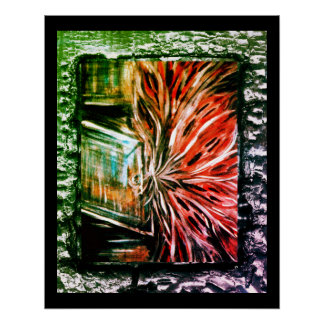 Geister im Wandschrank Poster
