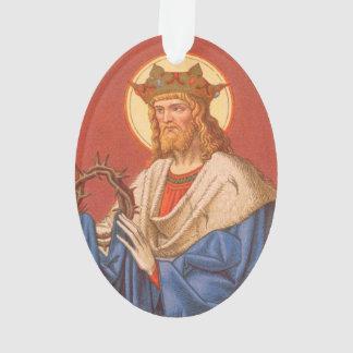 Geisterbild St. Louis IX der König (P.M. 05) Acryl Ornament