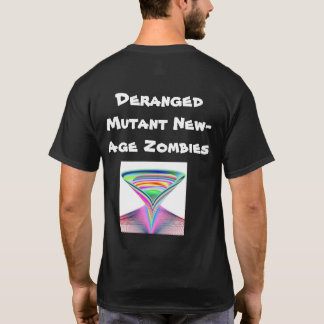 Geistesgestörte Mutant-Zeitalter-Zombies T-Shirt