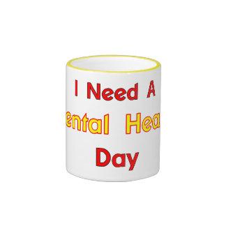 Geistesgesundheits-Tasse Ringer Tasse