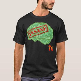 Geisteskranke Gehirne - Männer (Schwarzes) T-Shirt