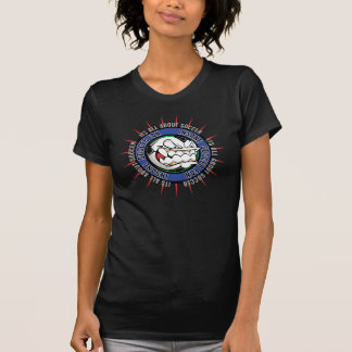 Geisteskranker Fußballfan T-Shirt