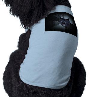 Geisteskrankheits-Wolf Meme lustiger Memes Ärmelfreies Hunde-Shirt