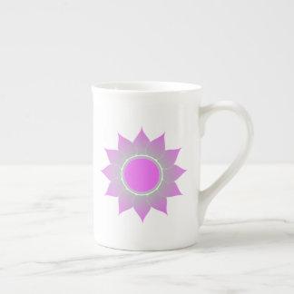 Geistige Lotos-Tasse Porzellantasse