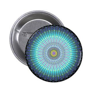 Geistige Mandala-Geschenke Runder Button 5,7 Cm