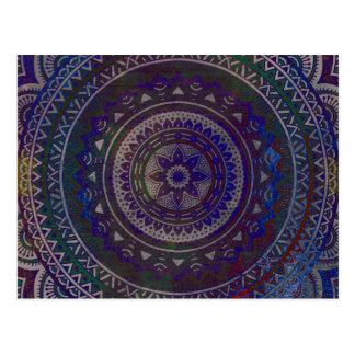 Geistige Mandala Postkarte