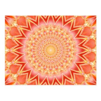 Geistige Stärke der Mandala geschaffen durch Tutti Postkarte